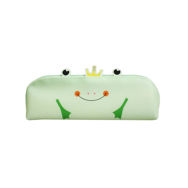 Frog Pencil Case - Green