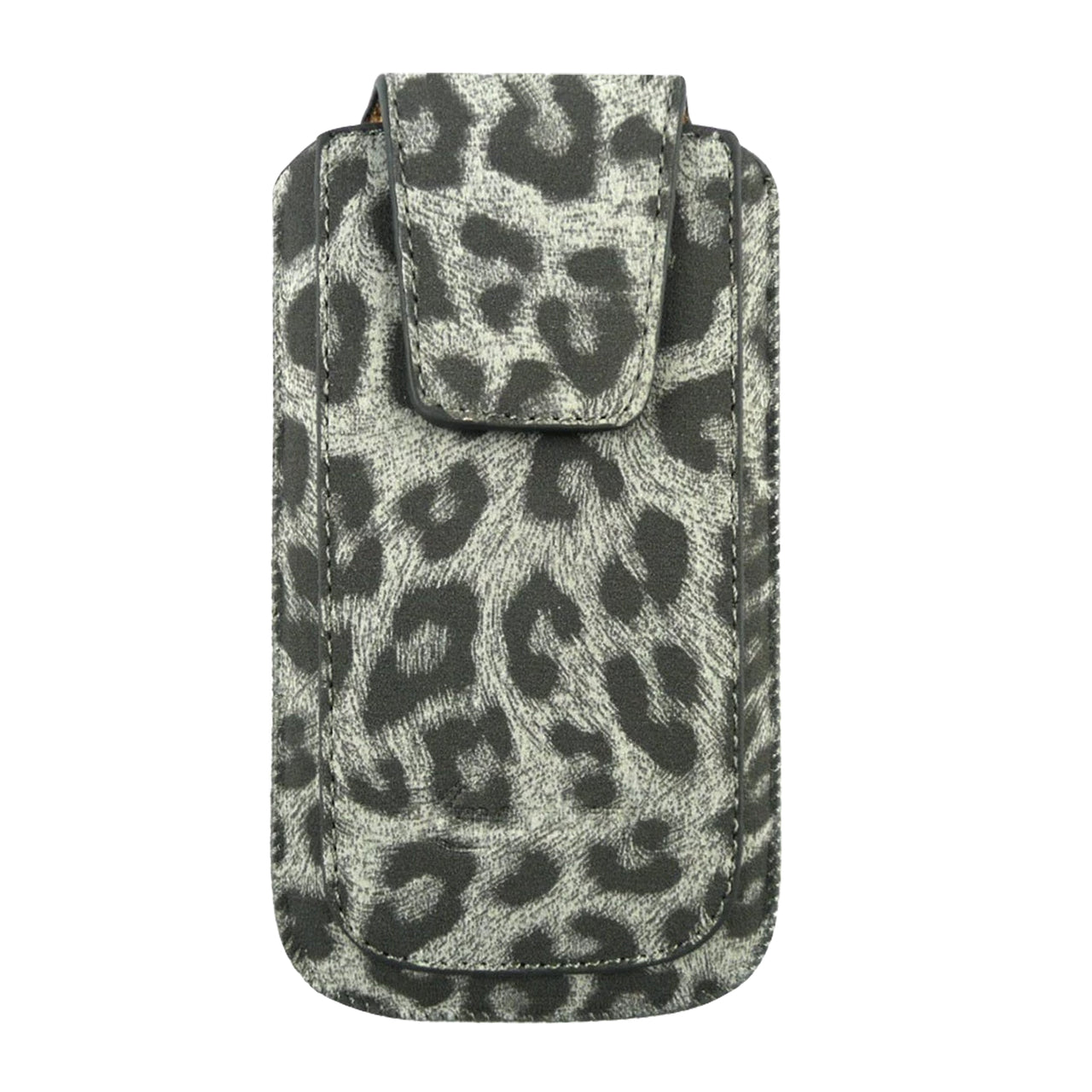 Universal Phone Pouch - Grey Leopard Classic