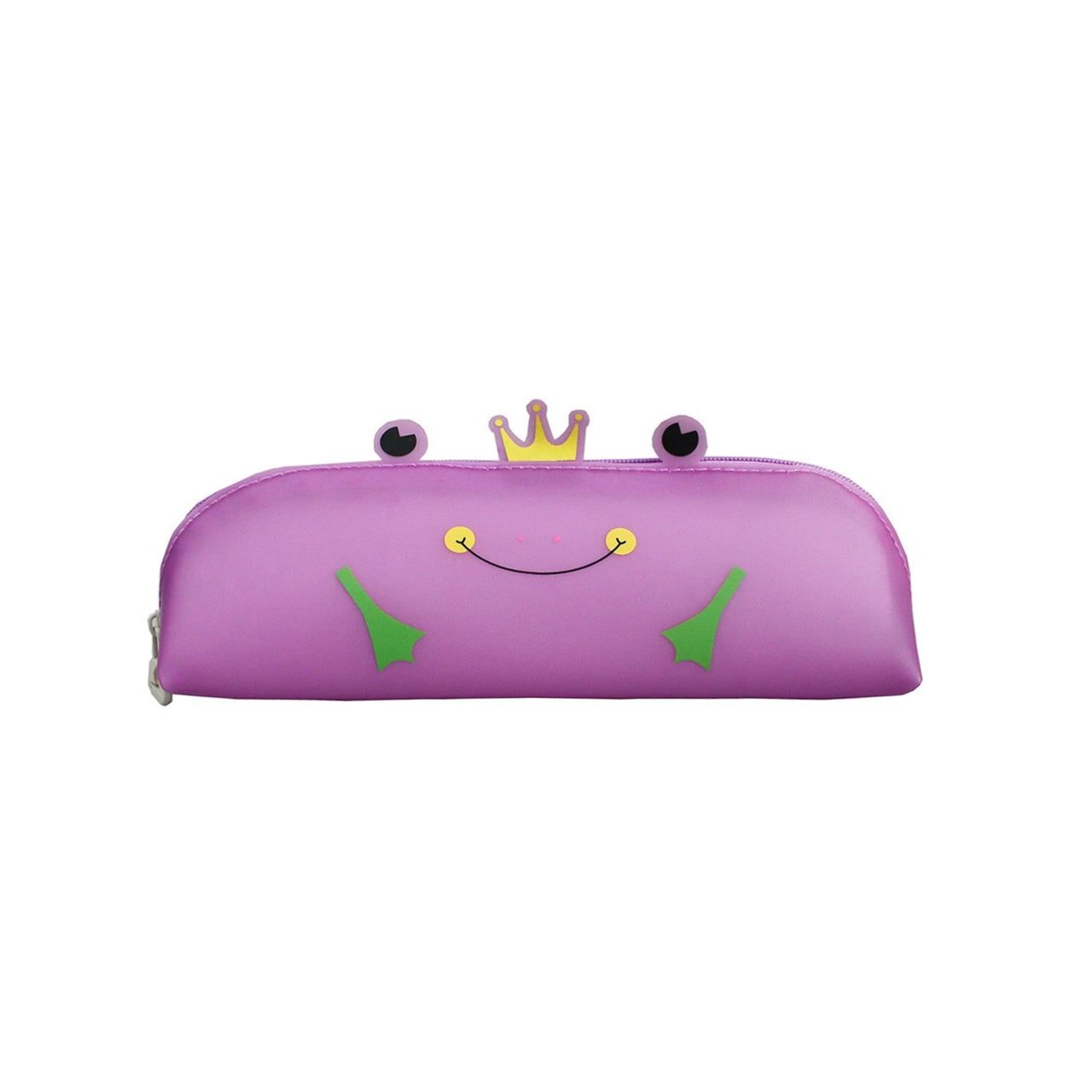 Frog Pencil Case - Purple