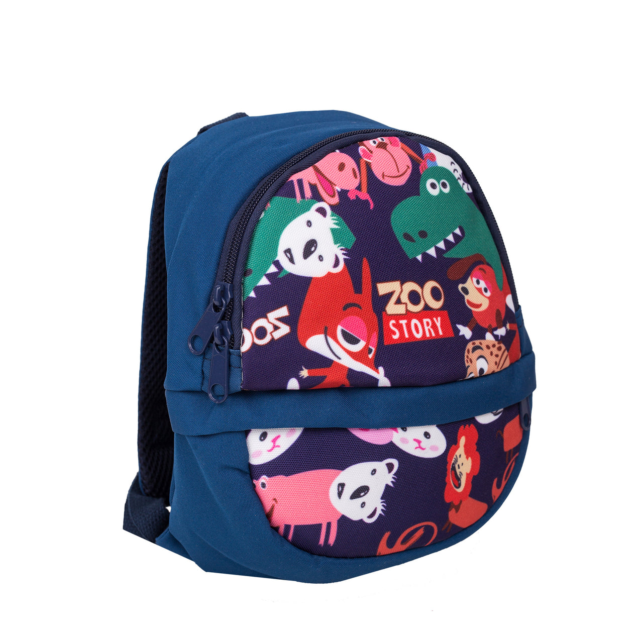 Printed Zoo Backpack - Blue