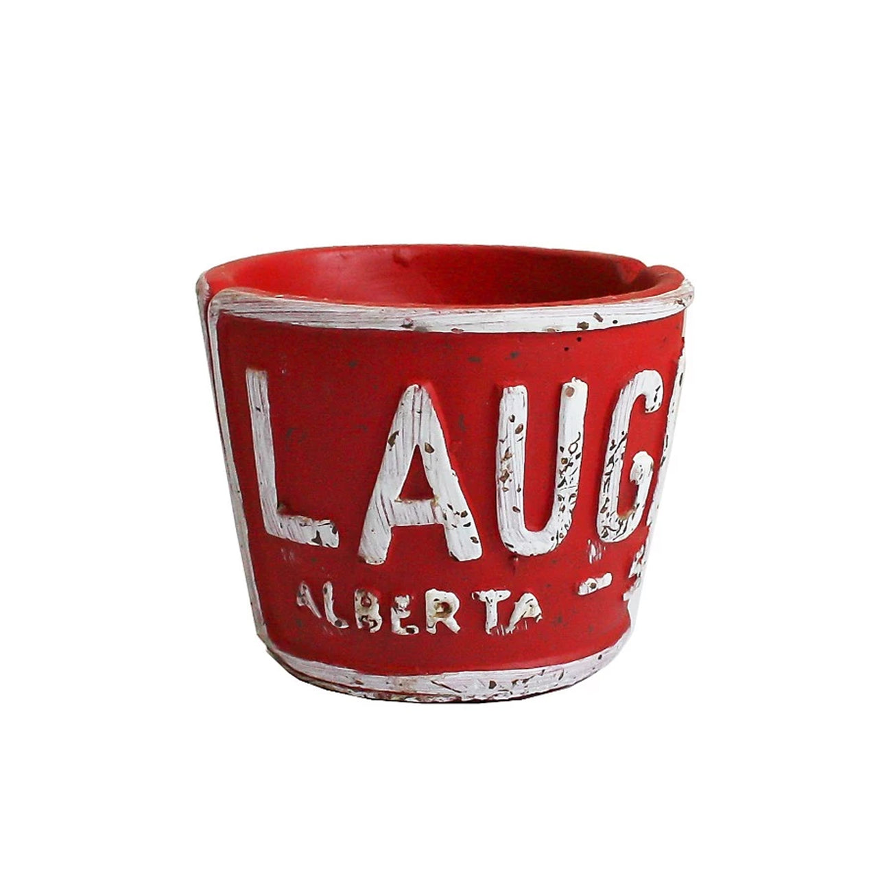 Laugh Planter - Red