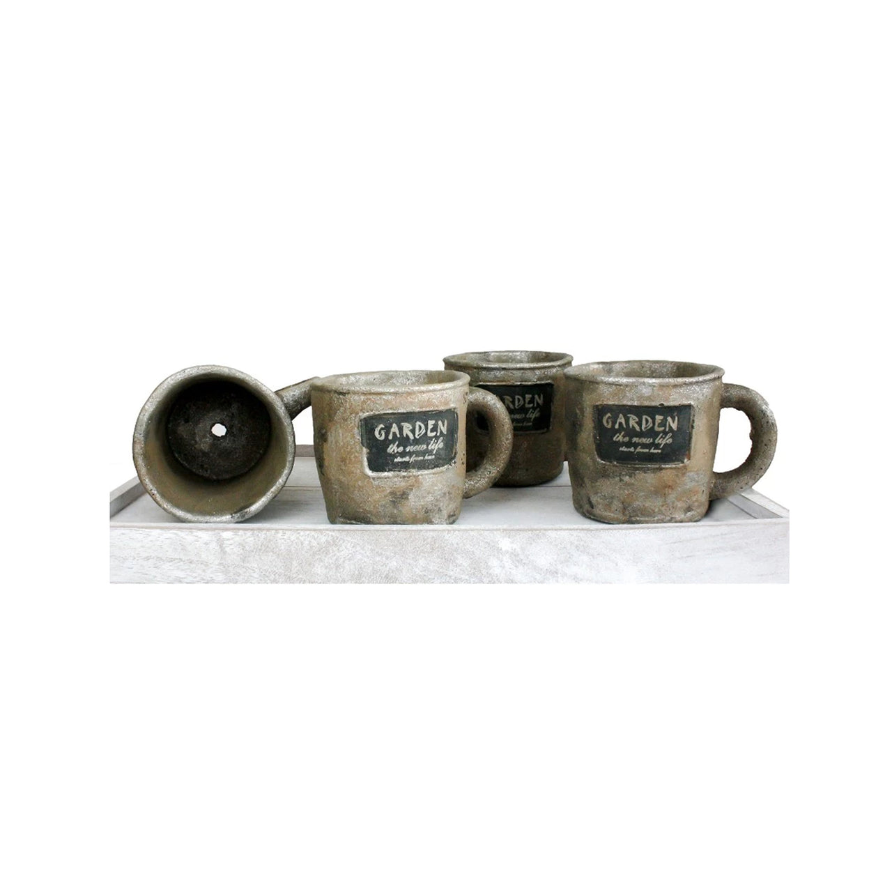 Mug Planter - Set Of 4