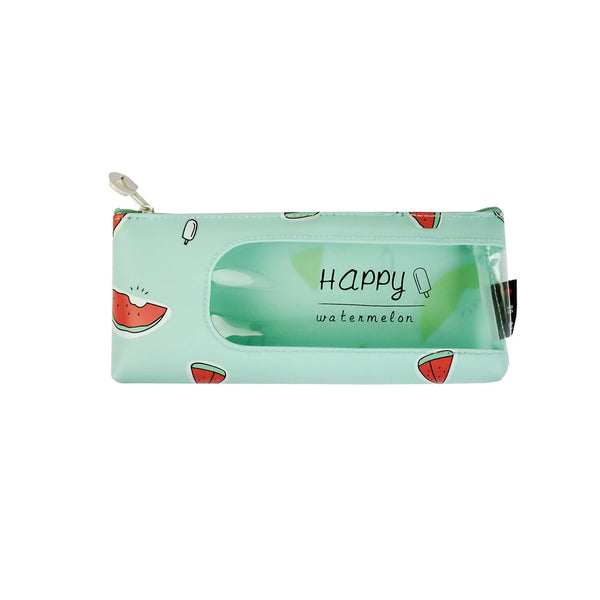 Fruit Pencil Case - Blue