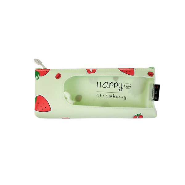 Fruit Pencil Case - Green