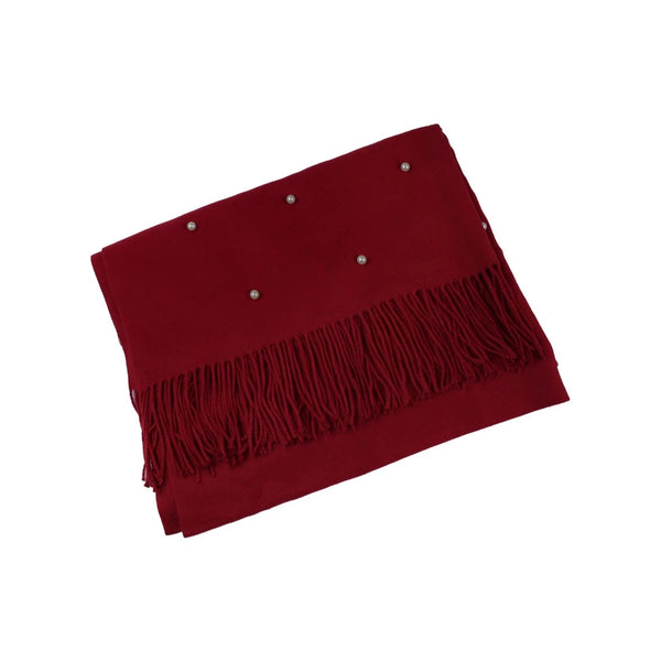 Pearl Scarf - Red