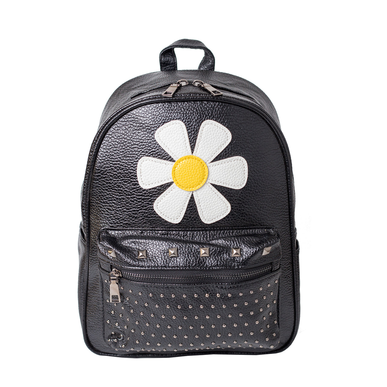 Studded Backpack - Flower
