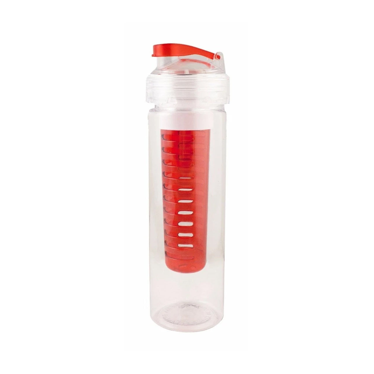 700ml Infuser Sipper Water Bottle - Red - EMARTBUY