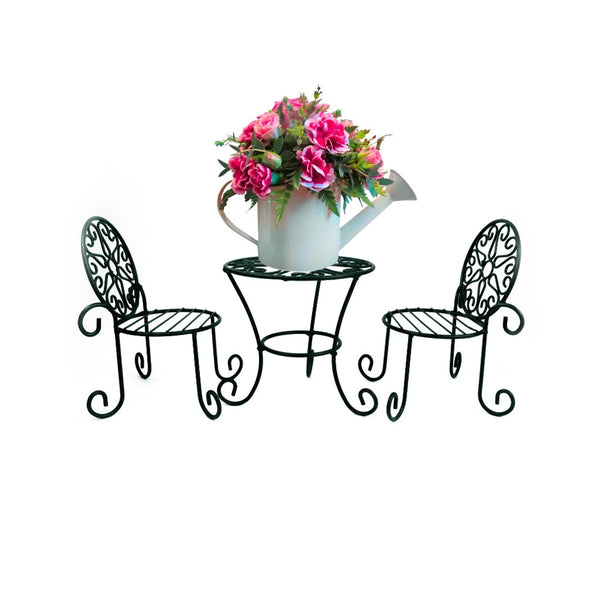 Patio Plant Stand Set