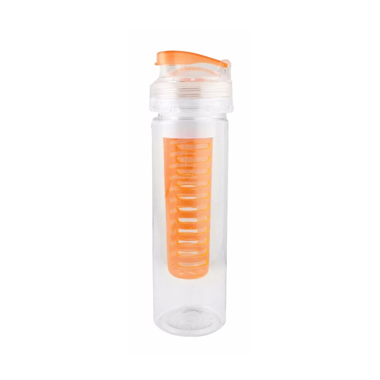 700ml Infuser Sipper Water Bottle - Orange - EMARTBUY