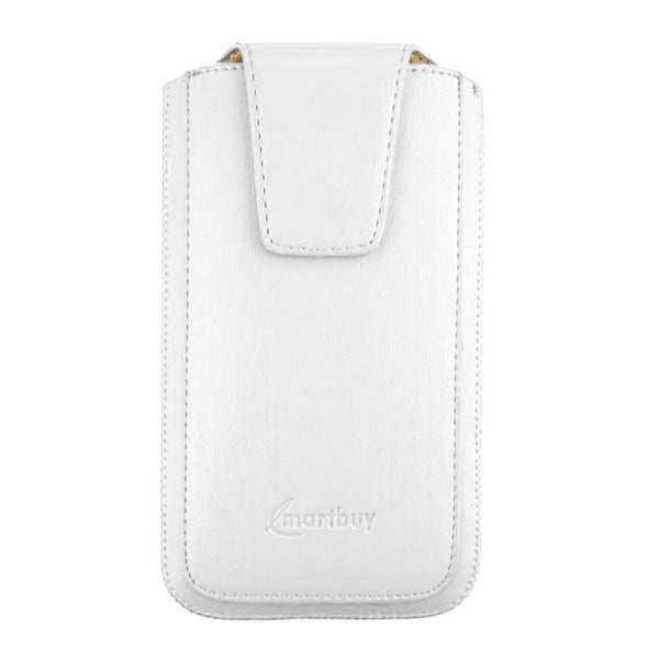 Universal Phone Pouch - White Sleek