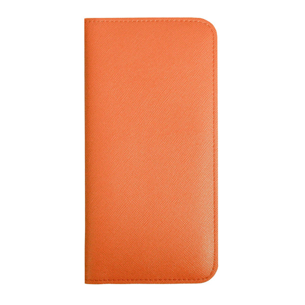 Magnetic Slim Wallet - Orange