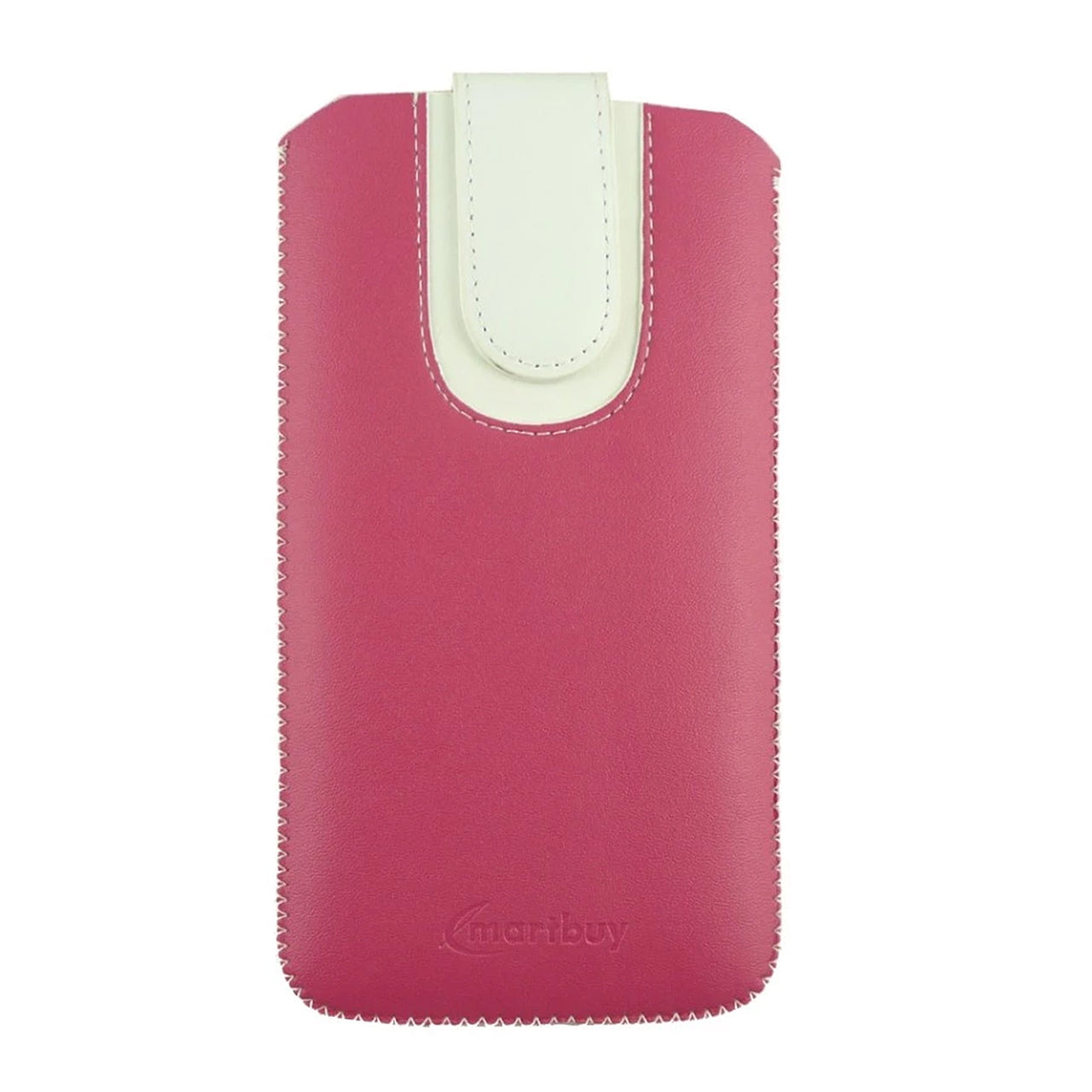 Universal Phone Pouch - Two Tone Pink White