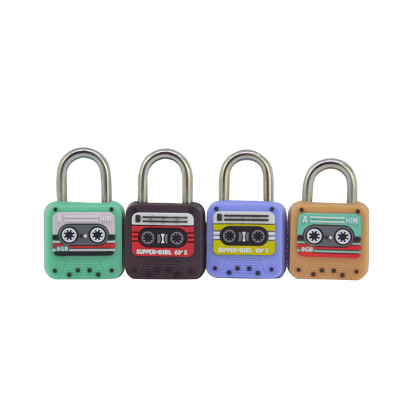 Cassette Locks - Set of 4