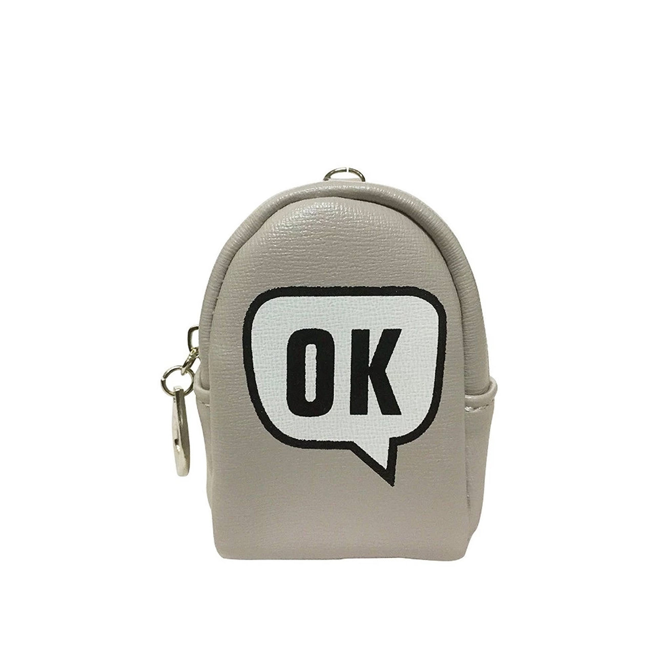 Ok Coin Purse - Light Grey