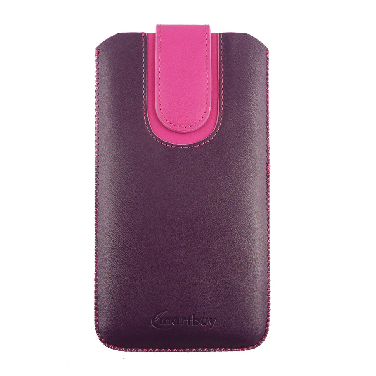 Universal Phone Pouch - Two Tone Purple Pink