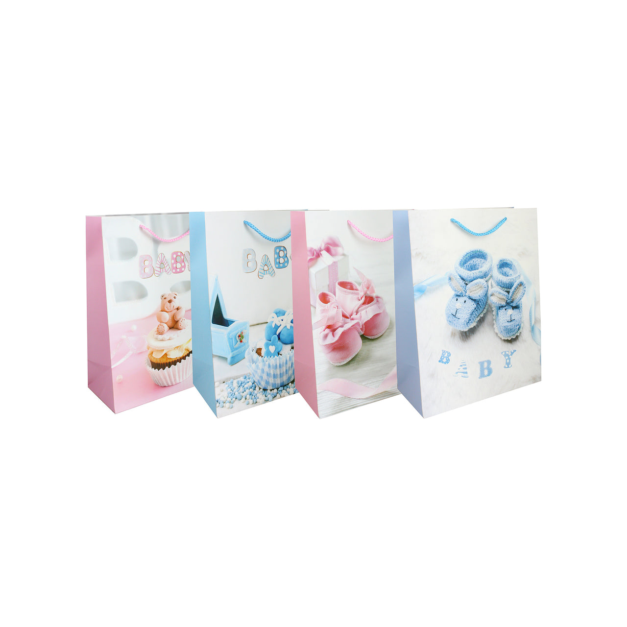 Baby Shoes Gift Bag - Set of 4 - EMARTBUY