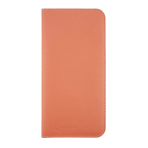 Magnetic Slim Wallet - Peach