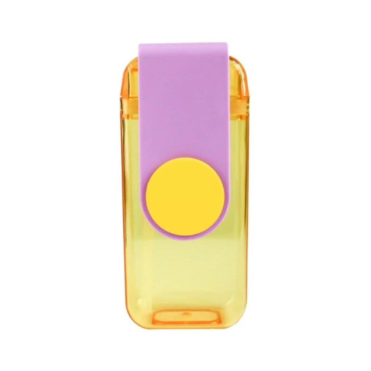 Sipper Water Bottle - Yellow/Purple