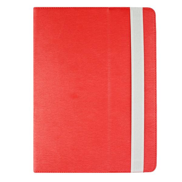 Universal Tablet Case - Red Grey Elastic