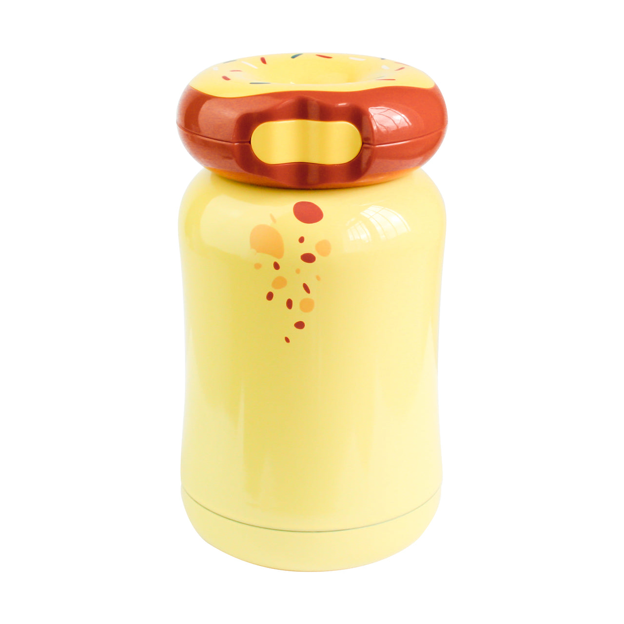 Doughnut Flask - Yellow