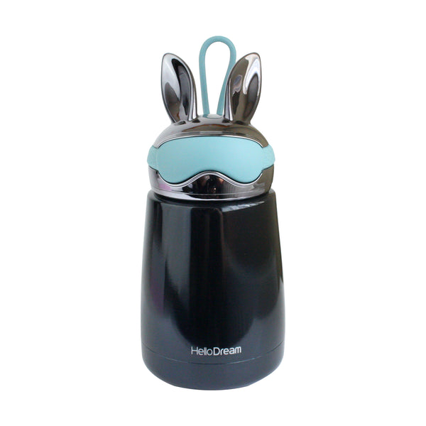 Metallic Rabbit Flask - Blue