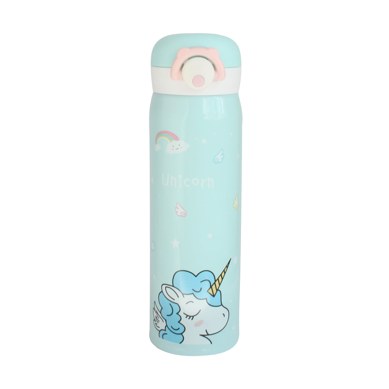 Unicorn Flask - Blue