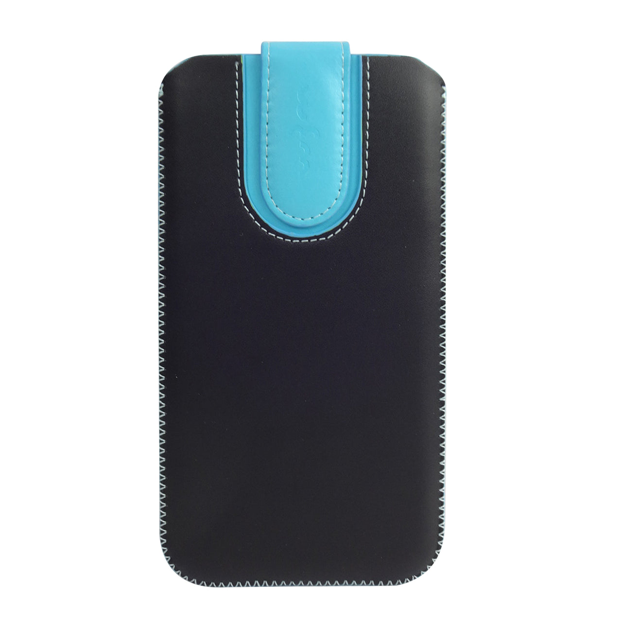 Universal Phone Pouch - Two Tone Black Blue