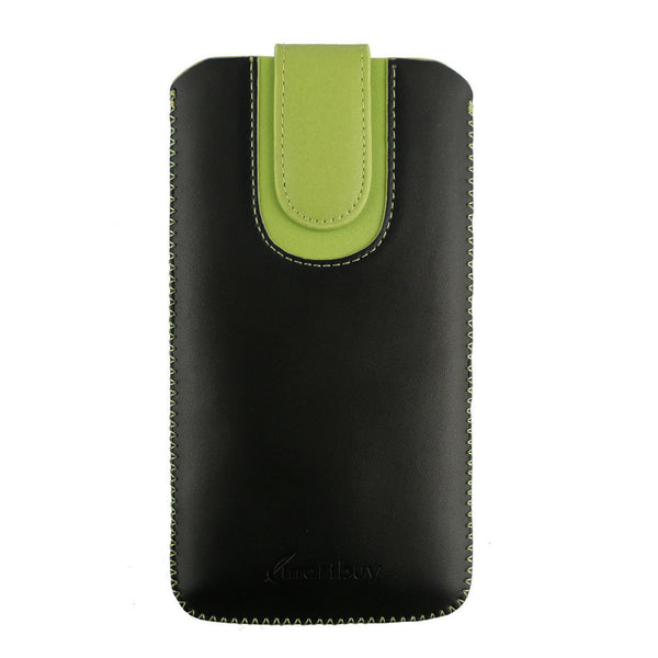 Universal Phone Pouch - Two Tone Black Green
