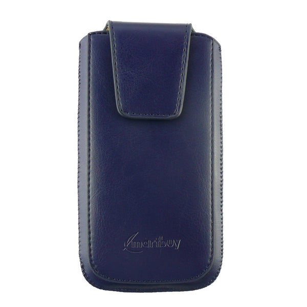 Universal Phone Pouch - Dark Blue Sleek