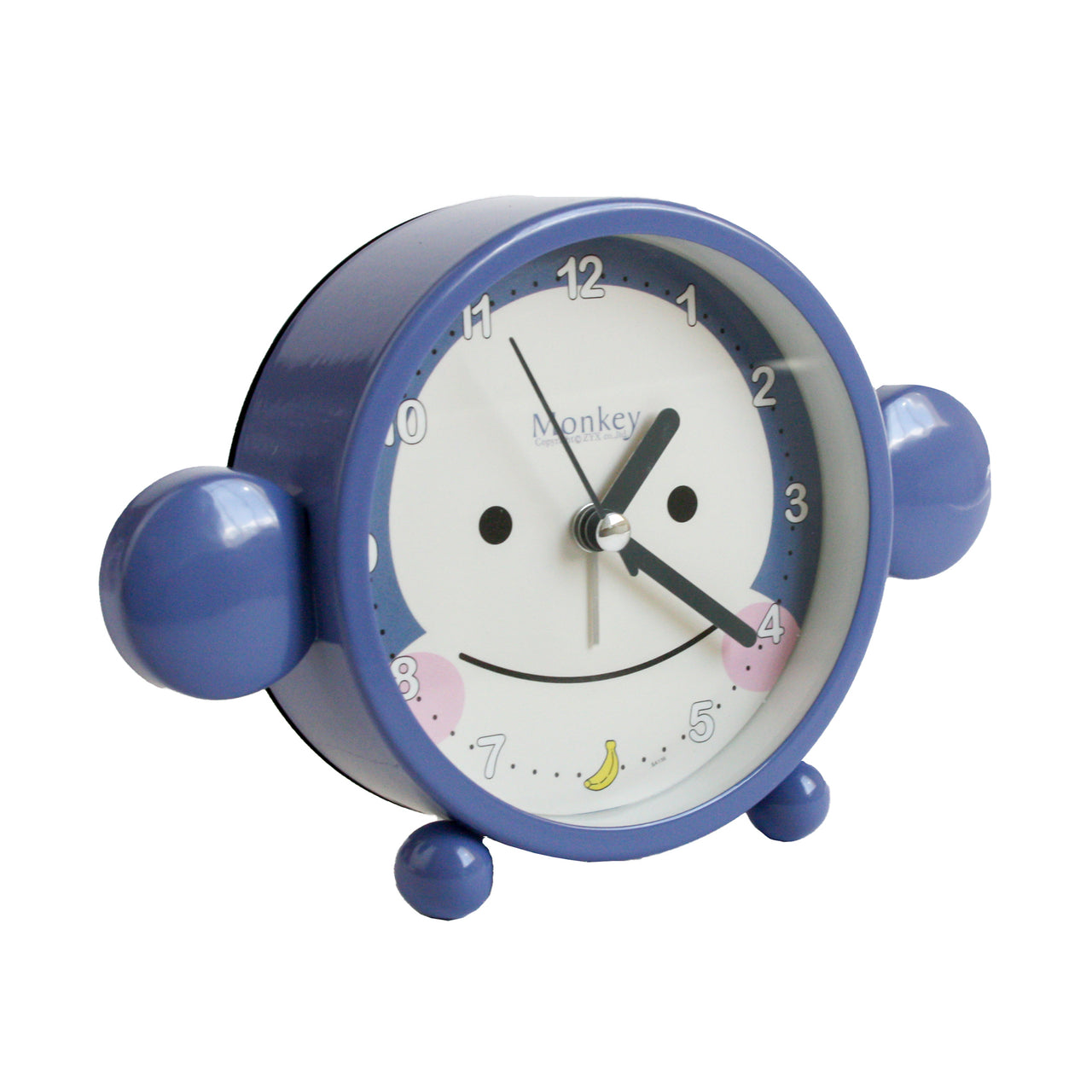 Monkey Alarm Clock - Blue