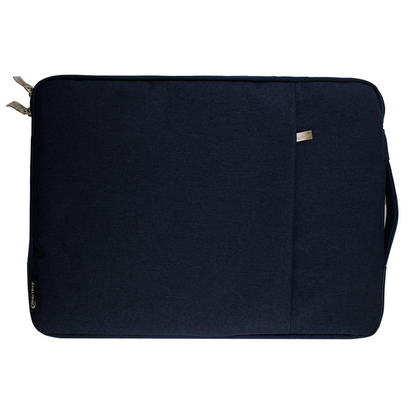 Fabric Zipper Sleeve - Dark Blue
