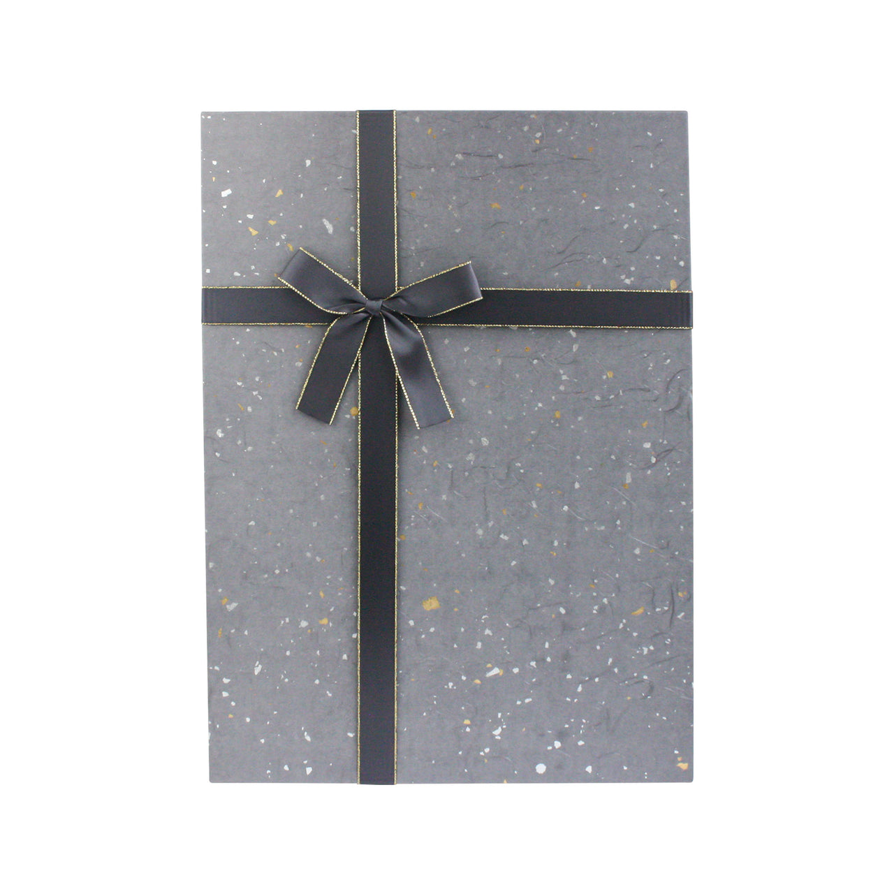 Grey Silver Speckled Gift Box