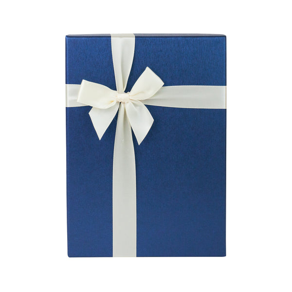 Blue Cream Bow Gift Box - EMARTBUY