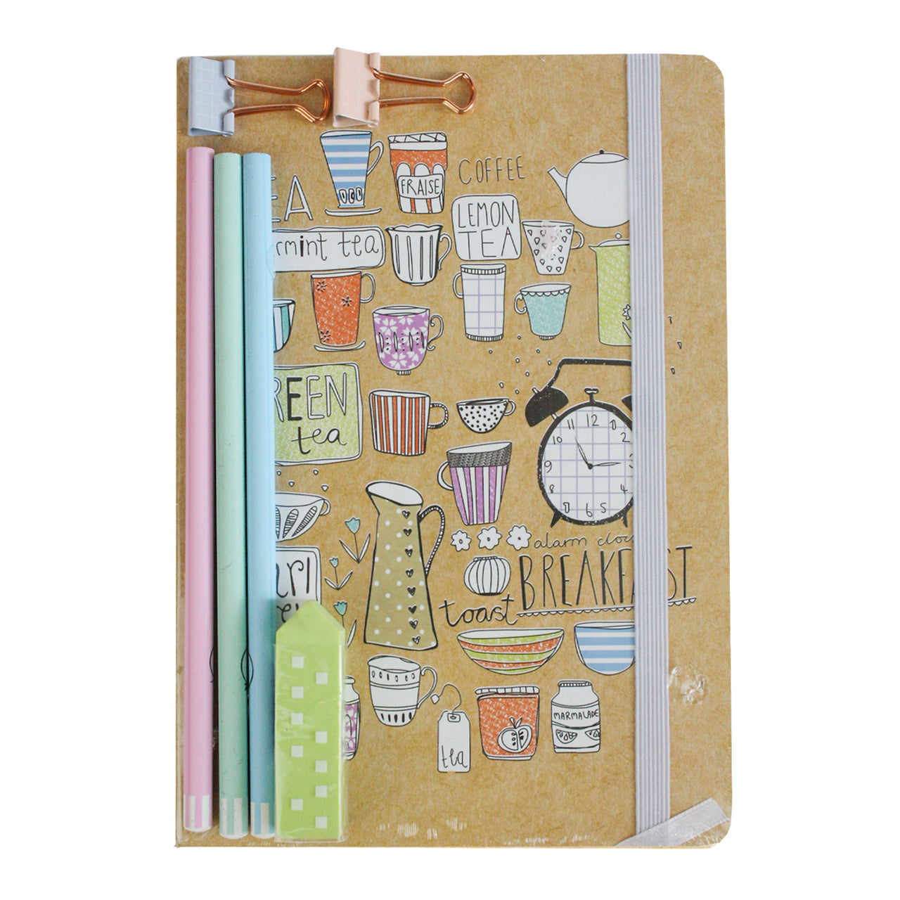A5 Cups Notebook Gift Set
