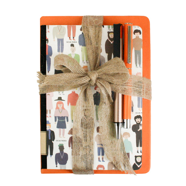 Social Phobia Notebook Gift Set