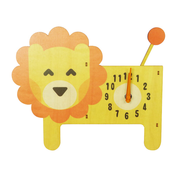 Animal Clock - Lion - EMARTBUY