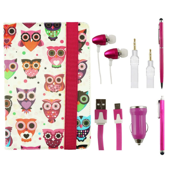 Owls Tablet Accessory Bundle Pack