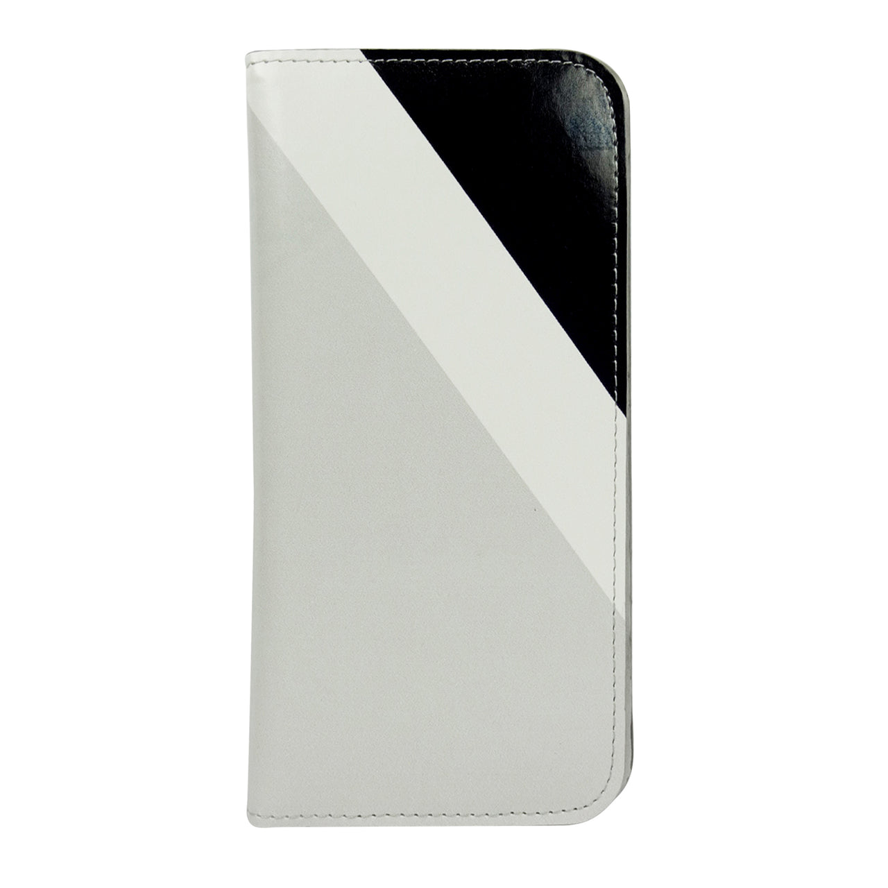 Magnetic Slim Wallet - Black Grey