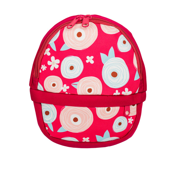 Printed Flower Backpack - Pink