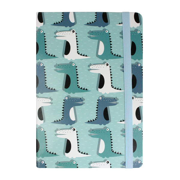 A5 Dinosaur Notebook - Blue - EMARTBUY