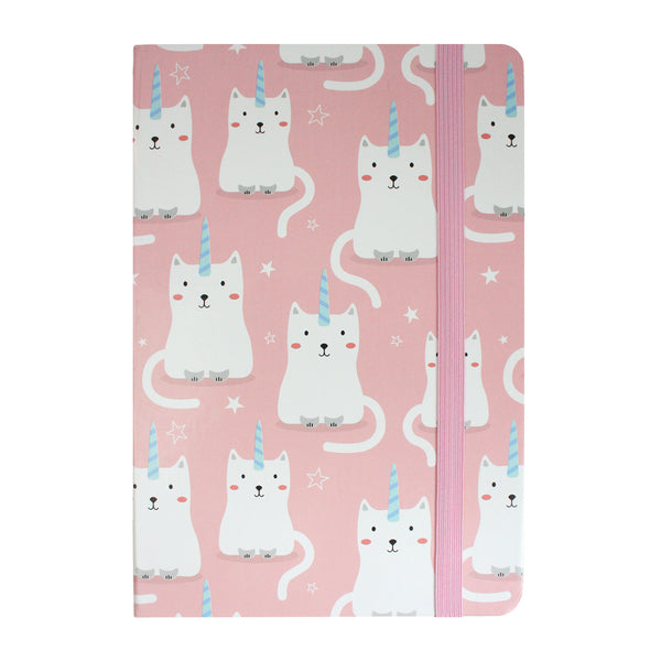 A5 Kitty Notebook - Pink - EMARTBUY
