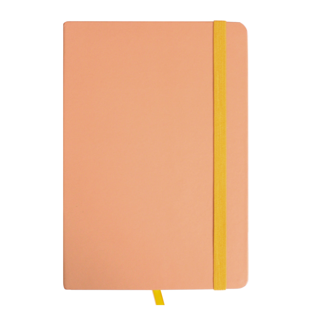 A5 Pastel Notebook - Peach - EMARTBUY