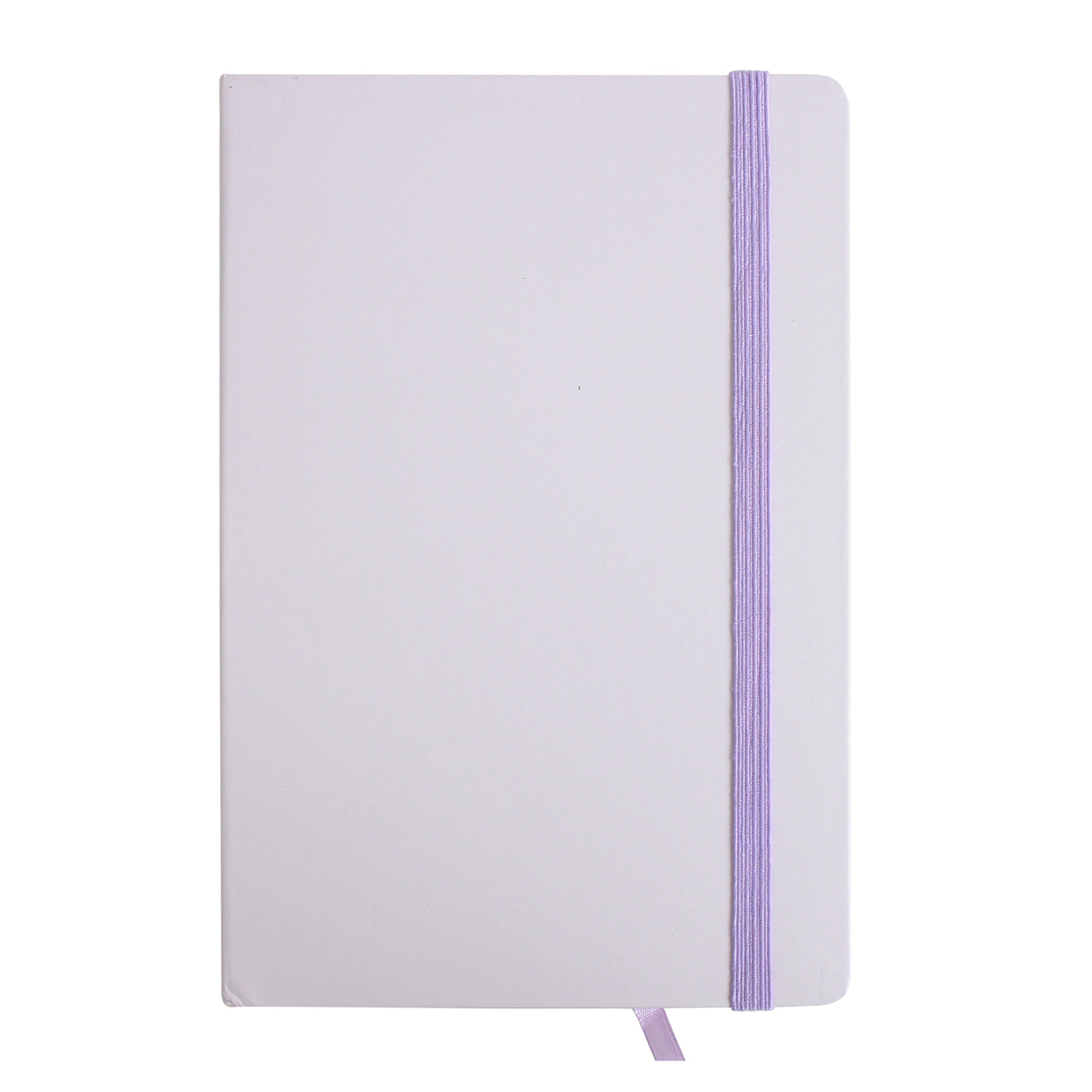 A5 Pastel Notebook - Purple - EMARTBUY