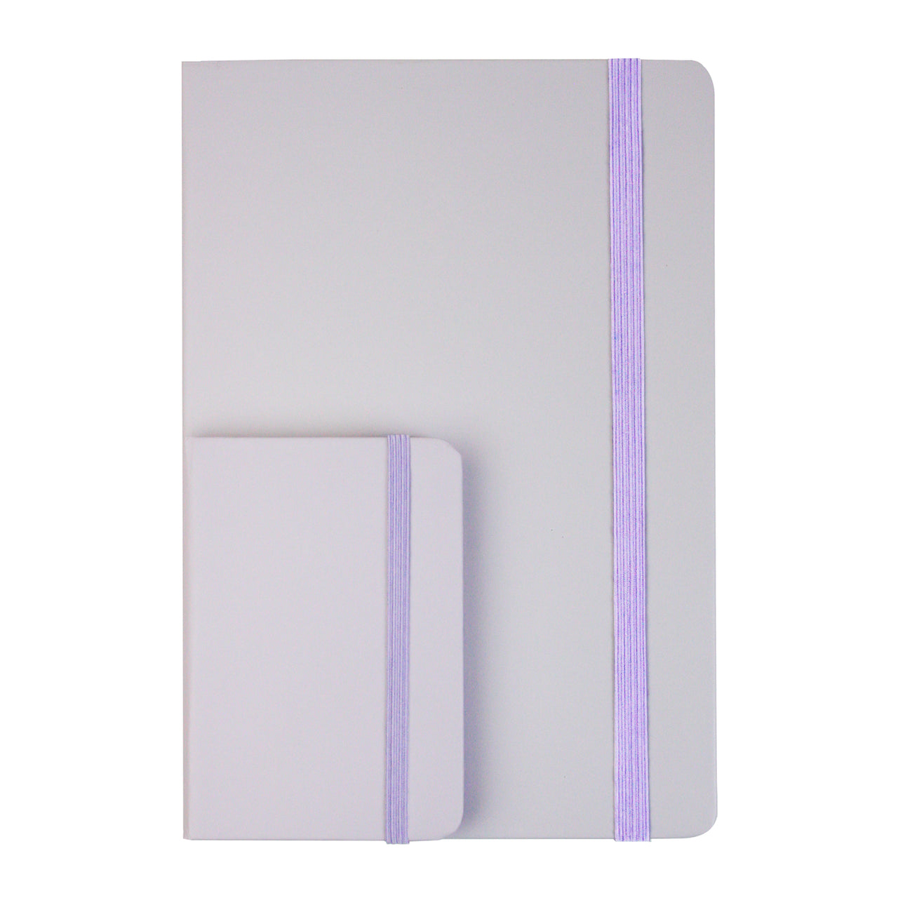 A5 & A7 Pastel Notebook - Purple - EMARTBUY
