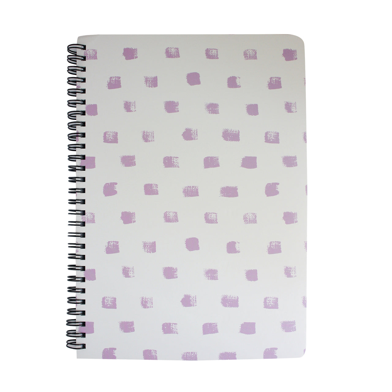 B5 Printed Notebook - White / Pink