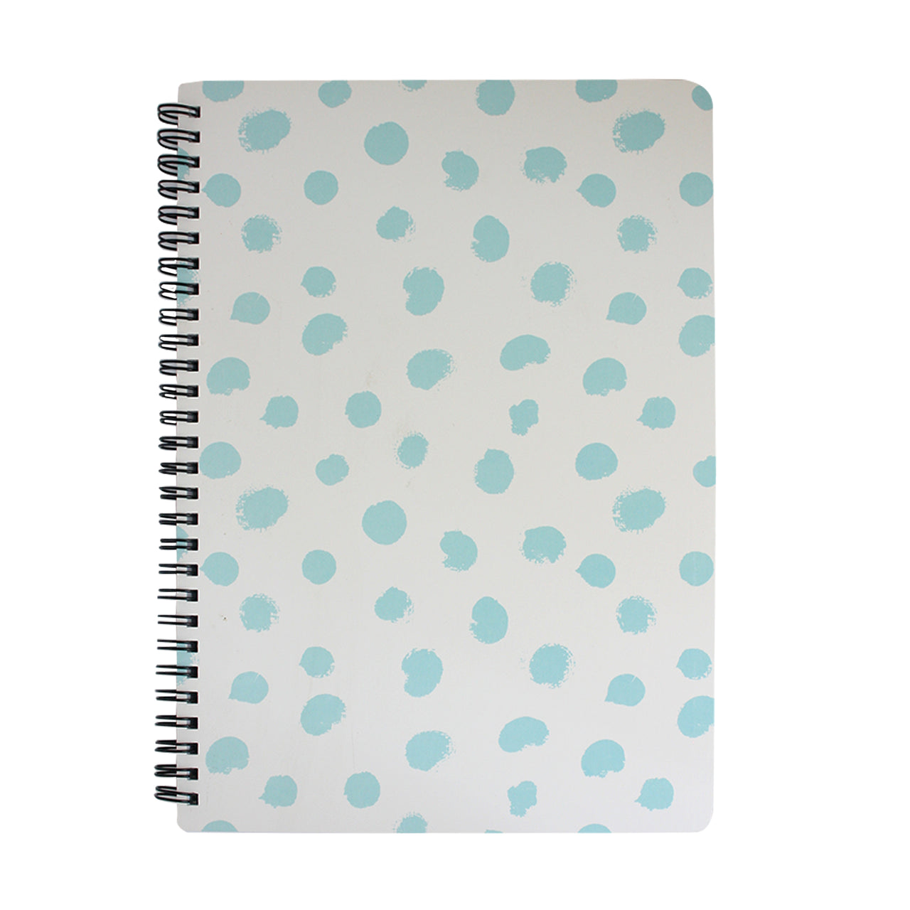 B5 Printed Notebook - White / Blue