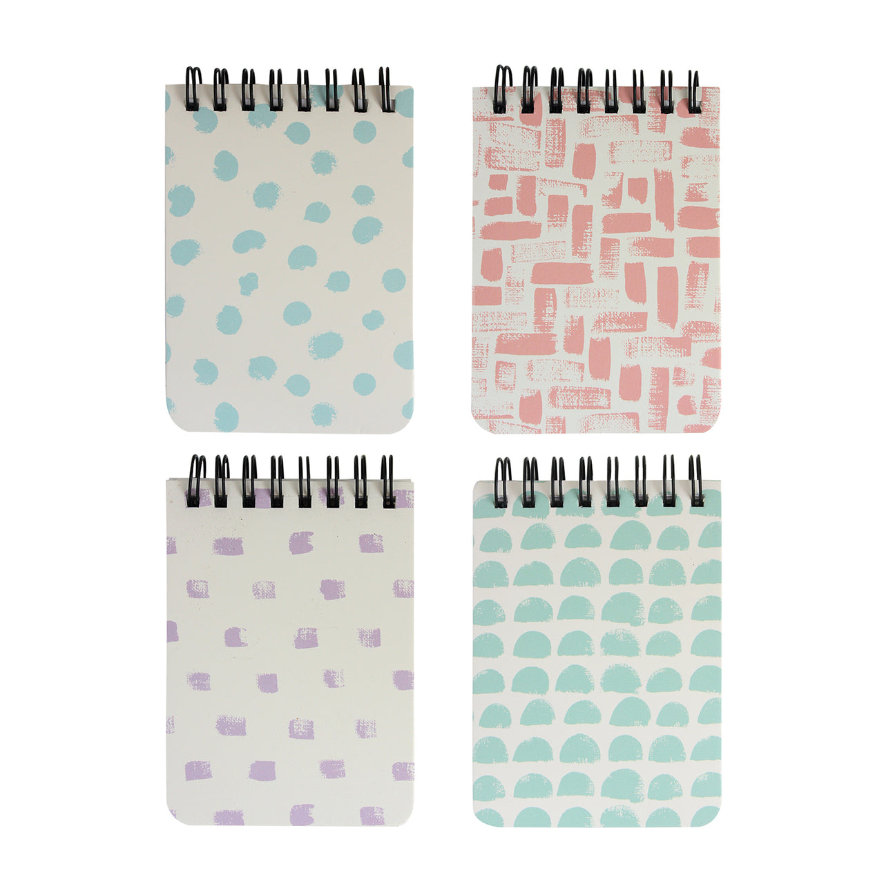 A7 Printed Notebook - Set of 4