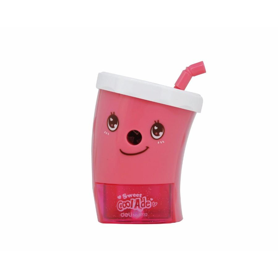 Cartoon Cup Sharpener - Pink
