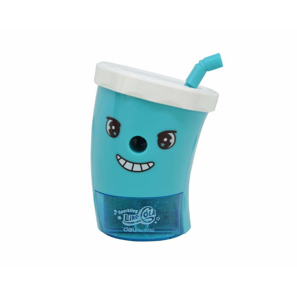 Cartoon Cup Sharpener - Blue