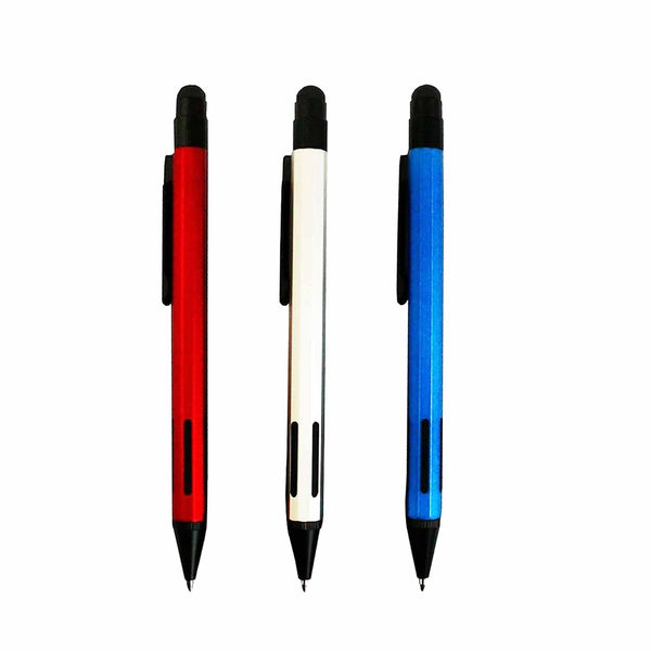 Metal Ball Point Stylus Pen - Set Of 3